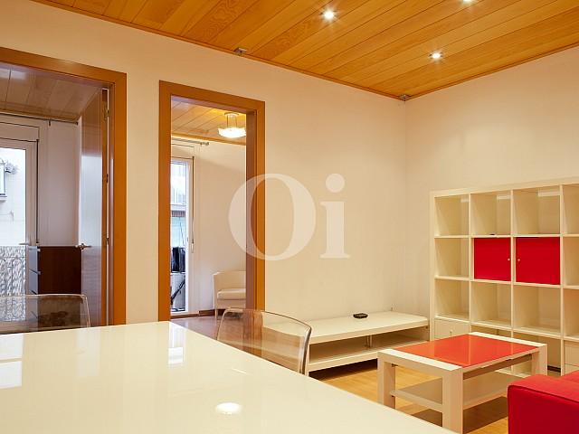 Уютная гостиная квартиры в Побле Сек