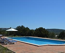 Impresionante villa rústica en alquiler en Es Cubells, Ibiza