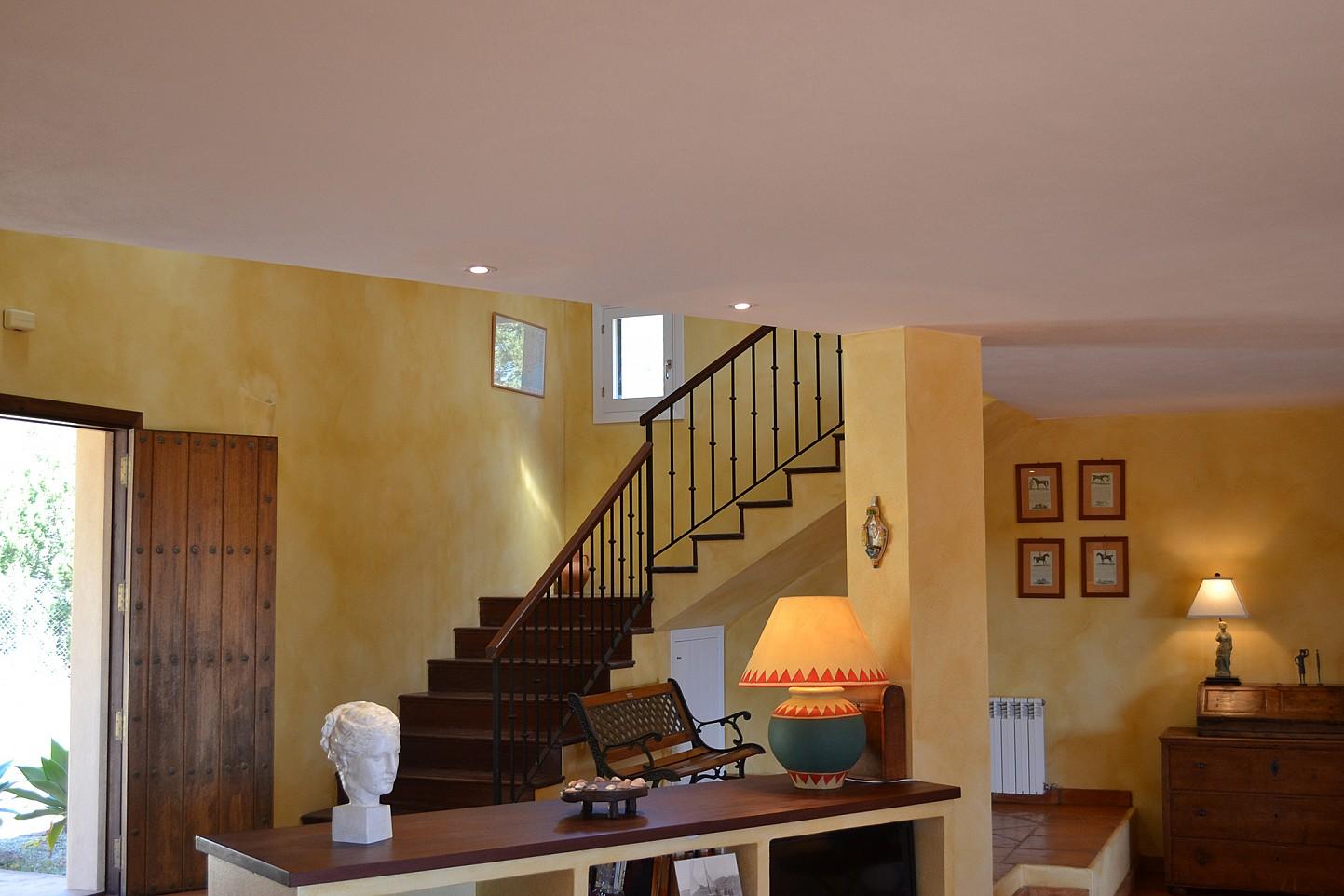 лестница виллы в Эс Кубельс
