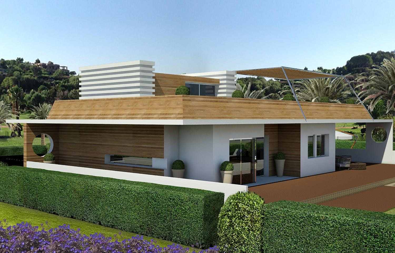 projet cl en main d une maison individuelle de haut standing lloret de mar costa brava oi. Black Bedroom Furniture Sets. Home Design Ideas