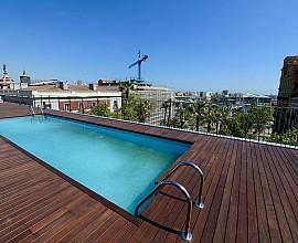 Сдается квартира на Пасео Колон с террасой и бассейном