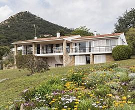 Exclusiva propiedad en venta con impresionante vistas al mar en Cabrera de Mar