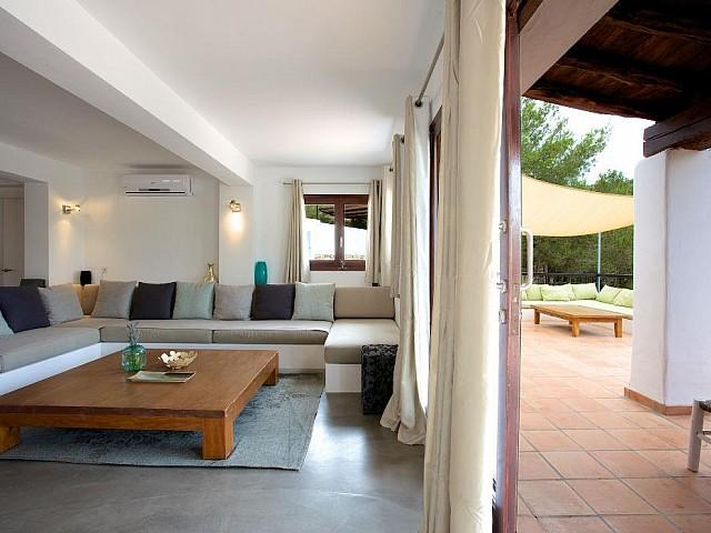 Magnifica villa en Es Cubells