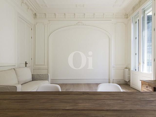 Espectacular piso con reforma única en finca regia en el Eixample Dreta