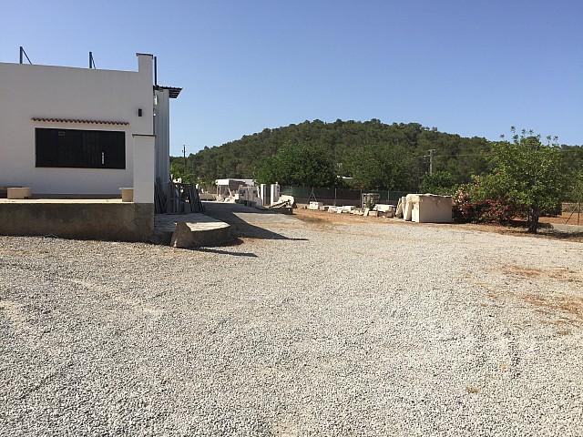 house, land, mountain