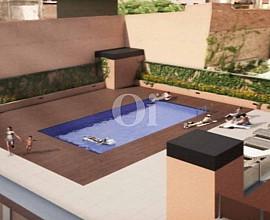 Продается новая четырехкомнатная квартира в центре района Gracia, Барселона