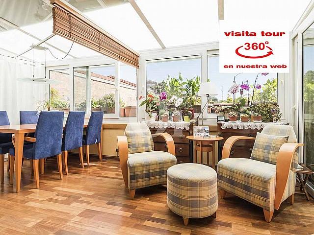 Cálido piso en venta con encantadora terraza de 24 m2 en Gracia, La Salut