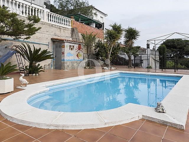 Bonita casa en venta cerca del centro del pueblo de Arenys de Munt, Maresme