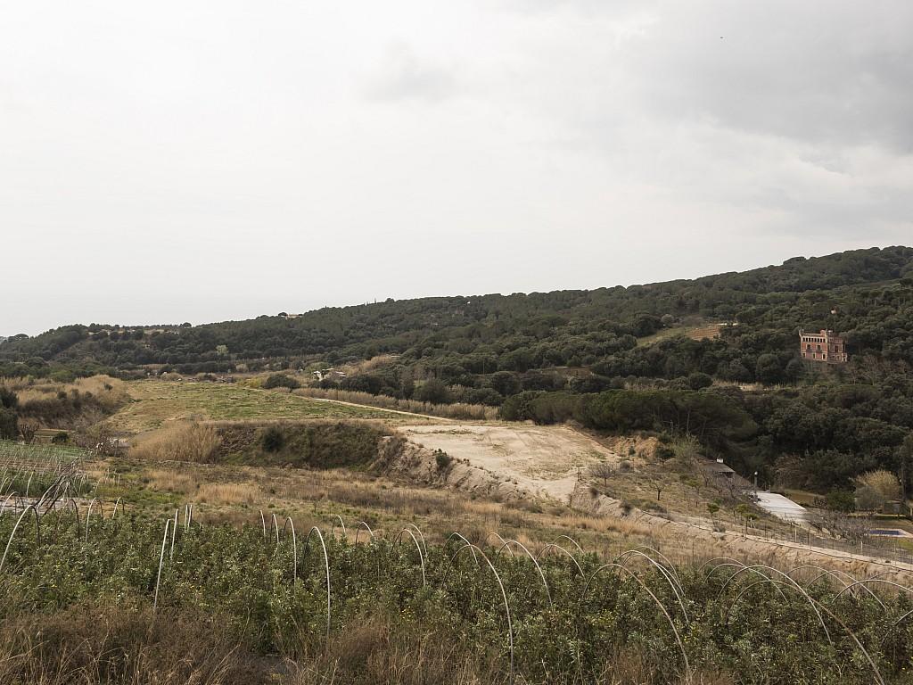 Solar en venta 7 hectáreas para construir Canet de Mar Maresme Playa Mar Costa