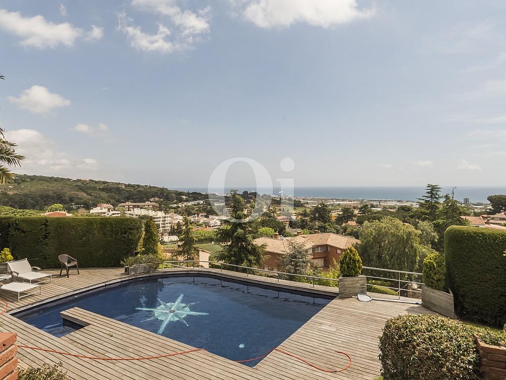 Casa unifamiliar de lujo en venta vistas al mar piscina Cabrera de Mar Maresme Platja Mar Costa