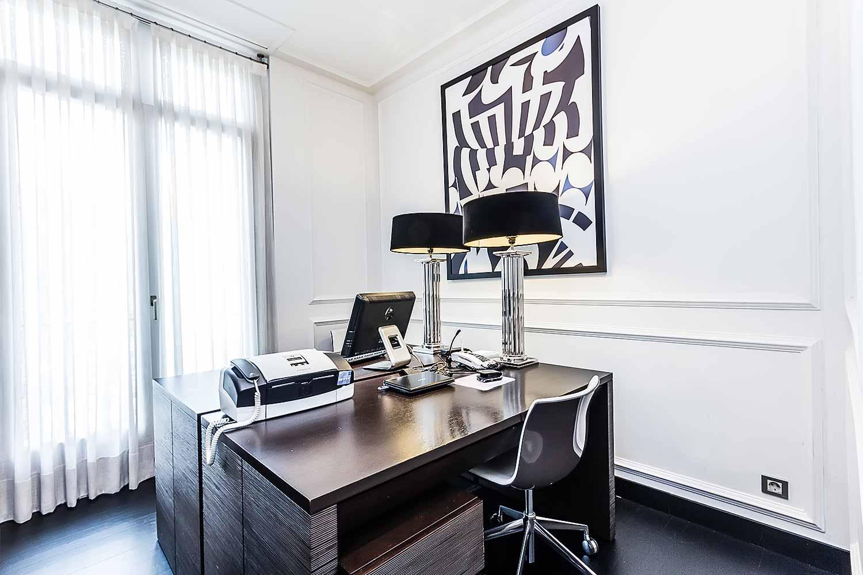Bureau calme dans un appartement luxueux en vente a Eixample Barcelone