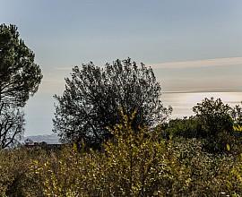 Venta de dos parcelas con vistas al mar en el Supermaresme, Llavaneres