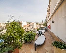 Duplex Penthaus zum Verkauf mit 200 m2 von Terrassen im Zentrum von Arenys de Mar