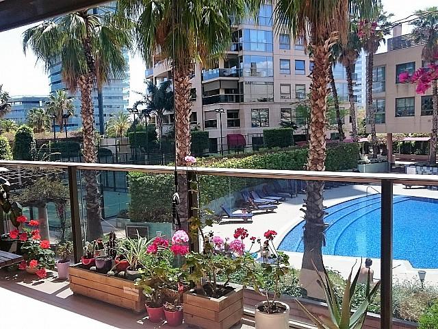 Продается роскошная квартира в Illa del Bosc в Диагональ Мар, Барселона