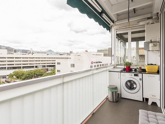 Balcón lavandería