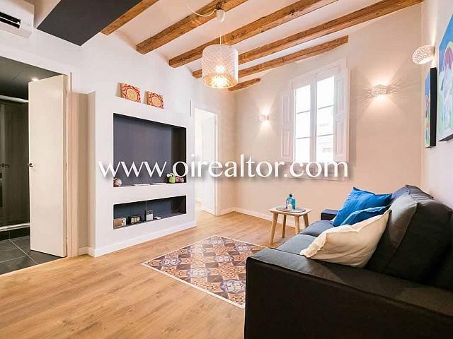 Apartament en venda amb reforma total al centre de Barcelona, barri del Raval