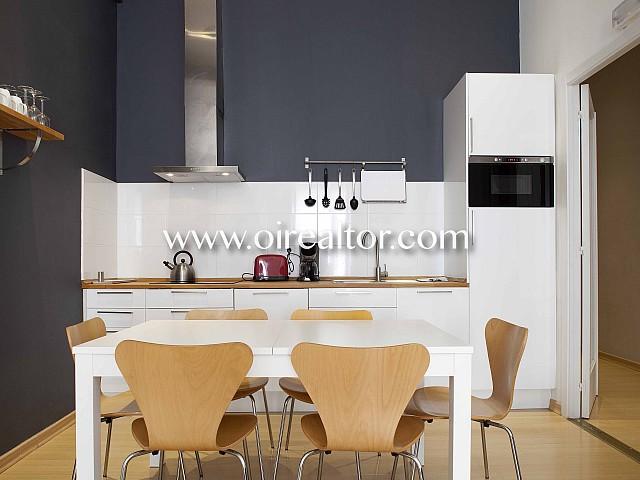Apartamento de diseño con licencia turística en Eixample Dreta, Barcelona