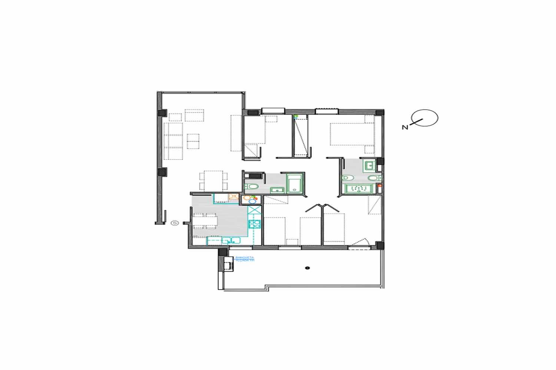 Новая квартира на продажу в Саграда Фамилия