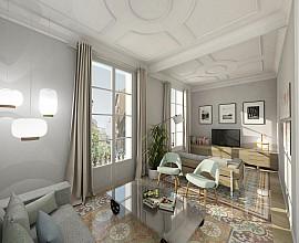 Продается шикарная квартира с ремонтом в квартале Вила де Грасия