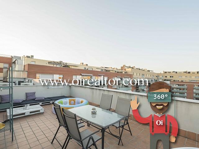 Роскошная квартира на продажу с террасой 50 м2 в Сант Андреу