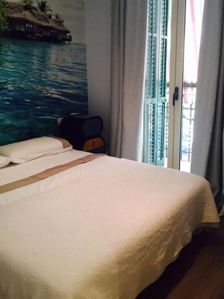 dormitorio, habitación, dormitorio doble, habitación doble, habitación con balcón, habitación con terraza
