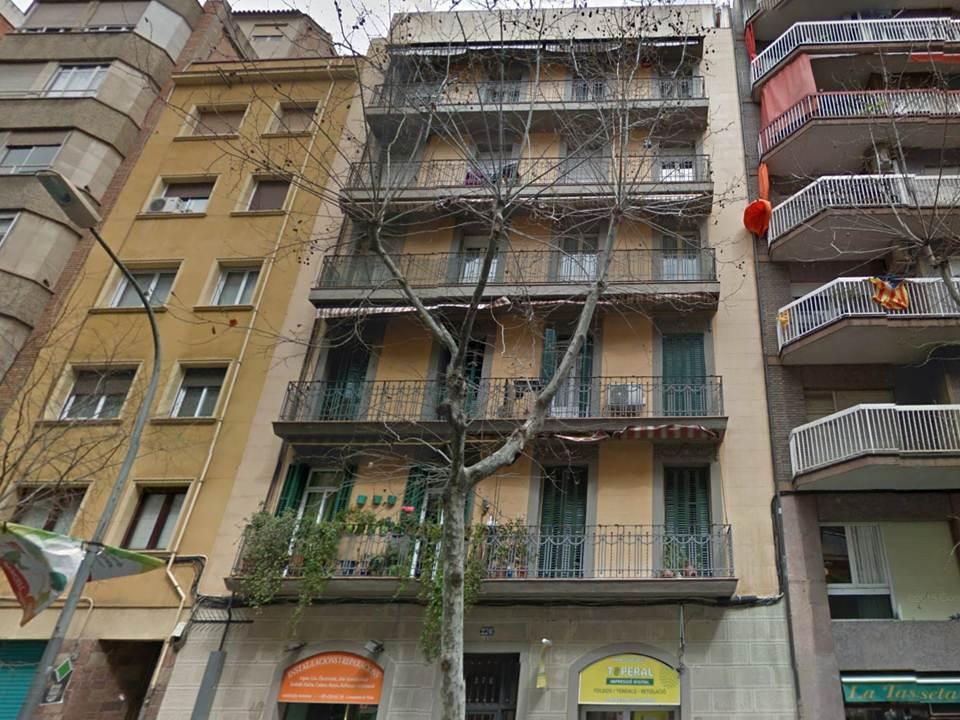 edificio, fachada, piso, bloque de pisos, apartament,