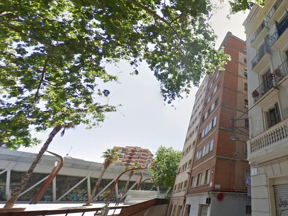 edificio, fachada, piso, apartamento, bloque de pisos
