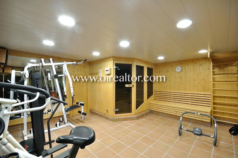 gimnasio, sauna, gimnasio con sauna, casa con gimnasio, casa con sauna