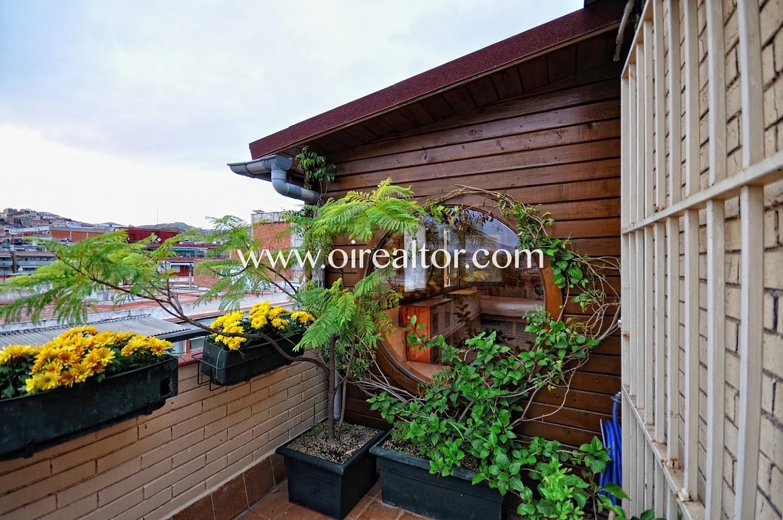 terraza, sobreático, ático, vistas, terraza con vistas, vistas a la ciudad,