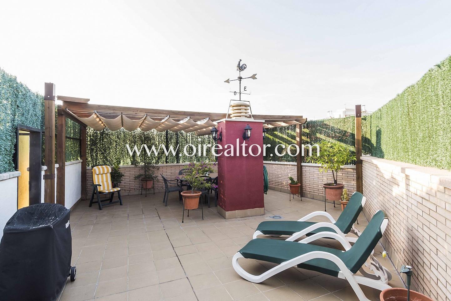 terraza, solárium, vistas, piso con terraza, planta alta, ático
