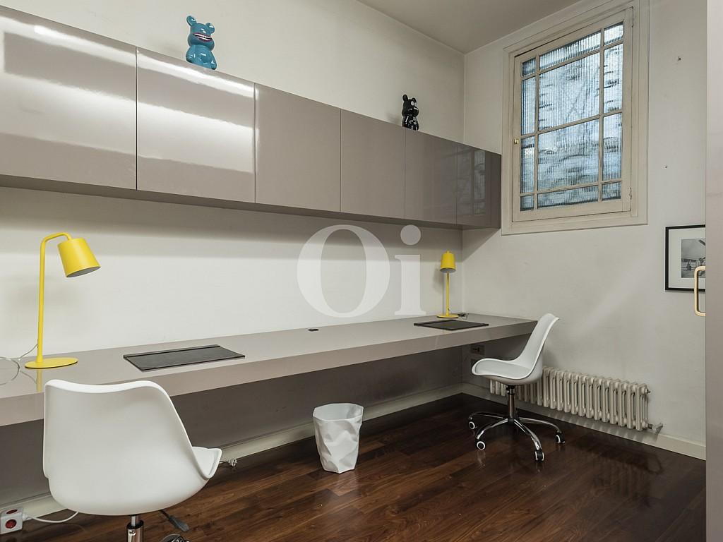 despacho, habitación, habitación simple