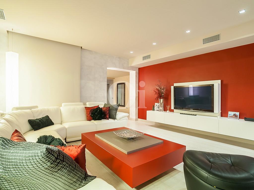salón, sala de estar, sofá, televisión, luminoso, salón de diseño