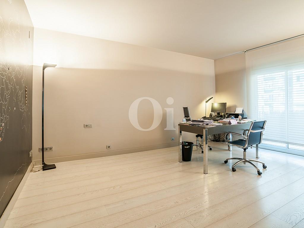 despacho, oficina, habitación,