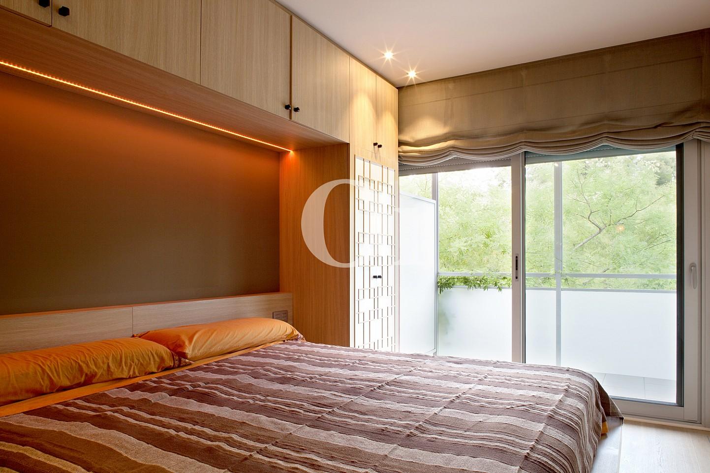 dormitorio, habitación, dormitorio doble, habitación doble, cama, cama doble, terraza, dormitorio con terraza