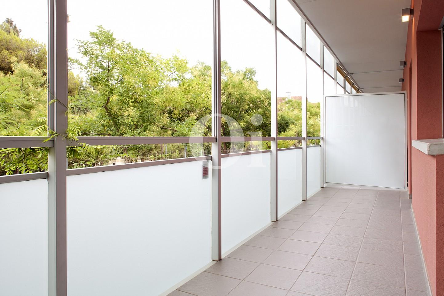 galería, galería acristalada, terraza acristalada, vistas, vistas a la ciudad