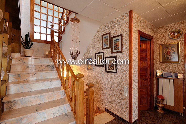 Escalera, pasillo, distribuidor, casa acogedora
