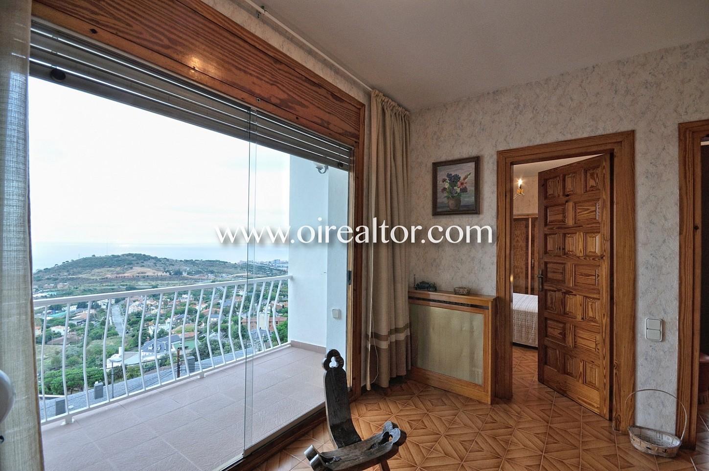 Habitación, vistas, terraza con vistas, distribuidor, pasillo