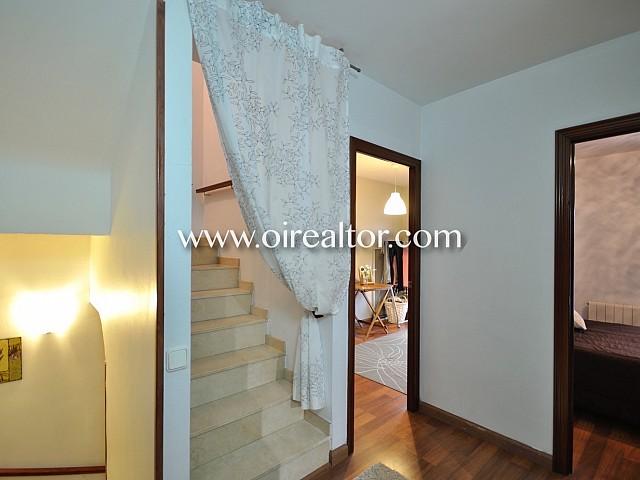 Pasillo, escaleras, habitación, habitaciones,