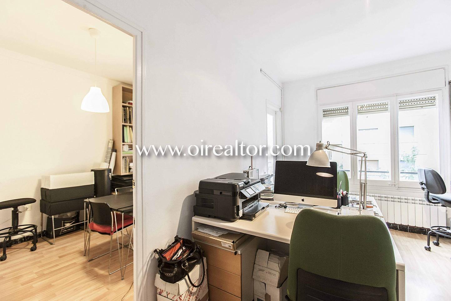 despacho, oficina, escritorio, librería,