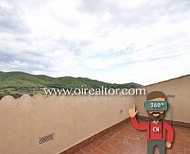 Maison en vente avec vue sur la mer et la montagne à Argentona, Maresme