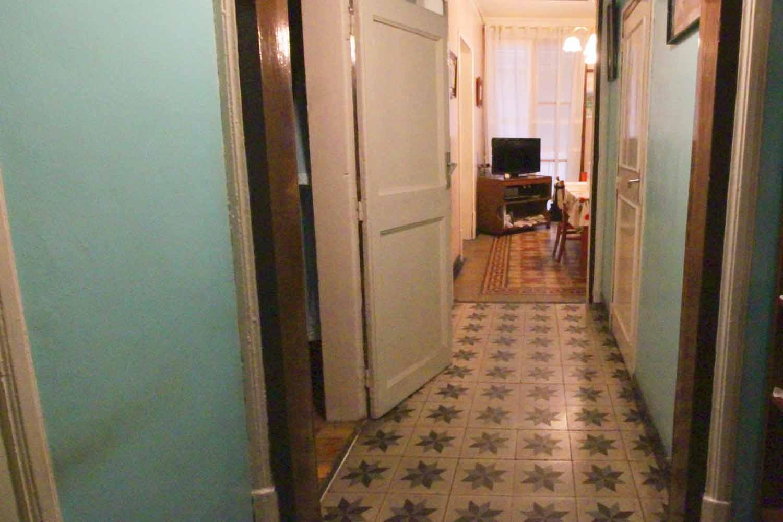 pasillo, mosaico, suelo de mosaico, mosaico hidráulico, habitaciones