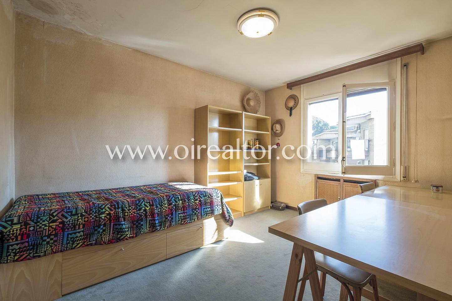 habitación simple, cama simple, cama, dormitorio, dormitorio simple, dormitorio luminoso, luminoso, soleado