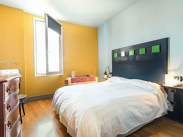 Schlafzimmer in Luxus-Ferienwohnung zur Miete in Vila Olimpica in Barcelona