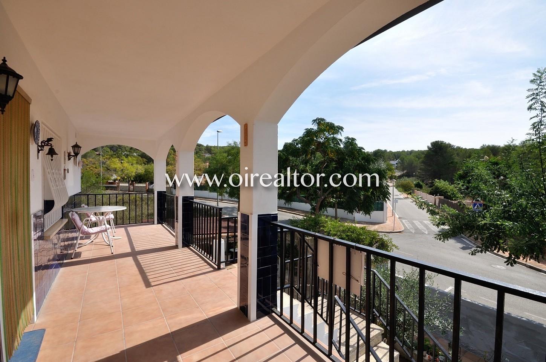 terraza, fachada, jardín, plantas, casa, casa de dos plantas, árboles
