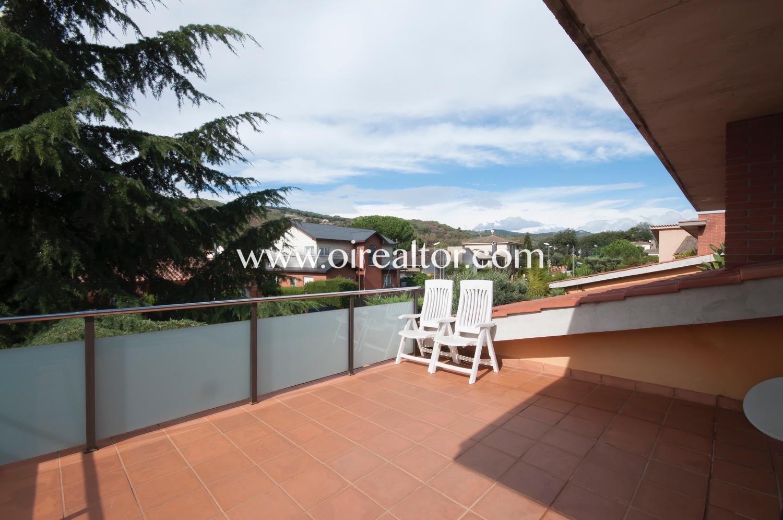 terraza, vistas, solárium, sol, vistas a la montaña, montaña, árboles