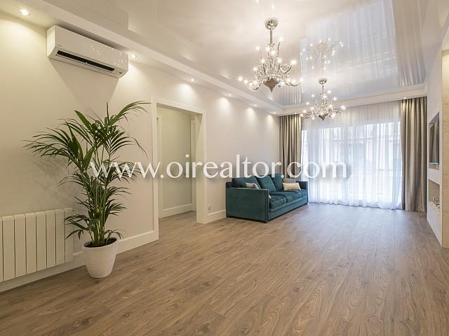 Exclusivo piso en venta con reforma de alto standing en Eixample Dreta