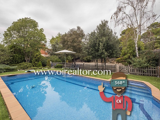 Large villa for sale in the best area of Valldoreix, Sant Cugat