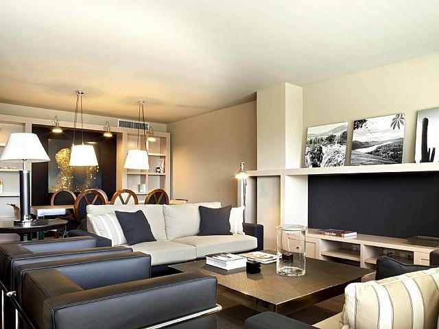 Impresionante apartamento de lujo con piscina en la zona alta de Barcelona
