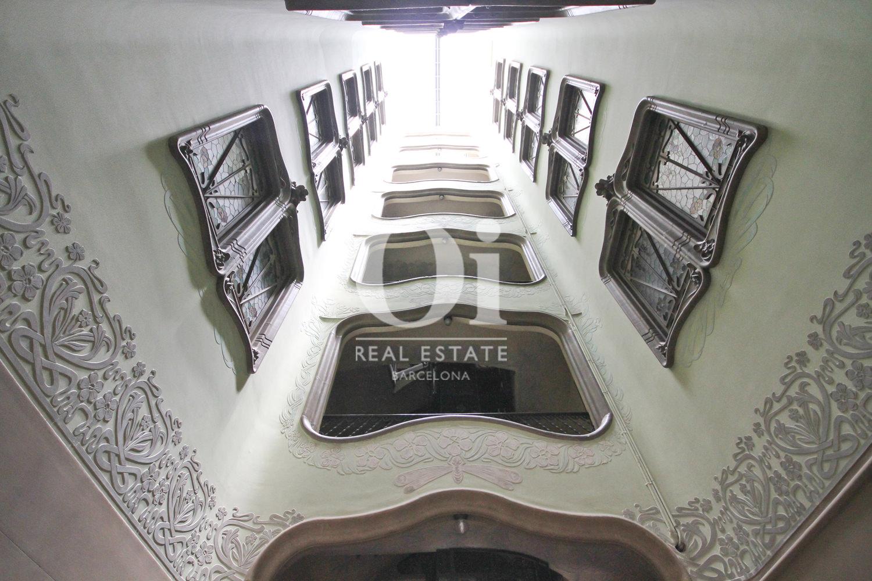 Hall d'entrée-luxe-appartement-Barcelone