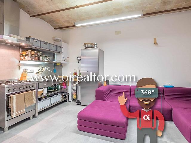 Funcional piso en venta en el Poble Sec, Barcelona